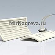 Керамический инфракрасный нагреватель LFTE 350 Вт/230 В, 245*110*37 мм, провод 110 мм фото