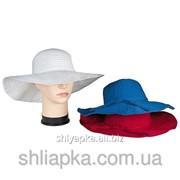 Шляпа летняя с большими полями 36/31-1 фото