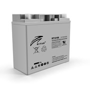 Аккумуляторная батарея AGM RITAR RT12180, Gray Case, 12V 18.0Ah ( 181 х 77 х 167 ) Q2 фото