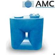 Бак пластиковый 1500 литров прямоугольный с крышкой фотография