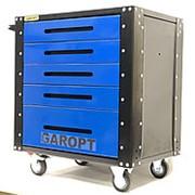 Garopt Gt5.blue – тележка для хранения инструмента 5 ящиков синяя фото