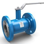 Кран стальной шаровой LD Ду 125 Ру 16 для газа фланец с рукояткой фото