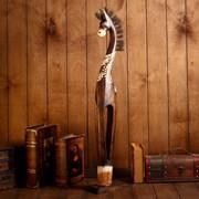 """Сувенир дерево """"Лошадь Зара"""" 80х18х10 см фото"""