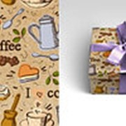 "Упаковочная бумага Миленд ""Кофе-брейк"", 10 листов, 70 х 100 см., 90 г/м2, 10-05-0054 фото"