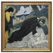 Репродукция картины Несение креста М. В. Нестеров фото