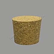 Натуральная конусная пробка 40мм D50/D43 фото