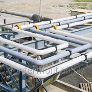 Промышленная трубная система фото