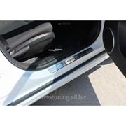 Накладки на дверные пороги Chevrolet Cruze 2009- фото