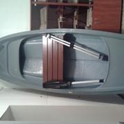 Лодка стеклопластиковая Лагуна -М длина 3.5 метра.Луганск. фото