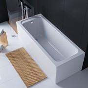 Акриловая прямоугольная ванна Alba 170*70 TM EGO фото