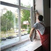 Установка оконных и фасадных систем, монтаж окон фото