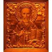Голограмма художественная Святой Николай фото