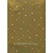 Услуга упаковки подарка бумагой Stewo Corona золотистая фото