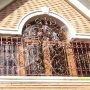 Решетки кованые оконные фото