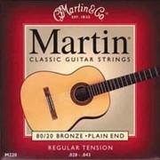 Струны Martin 80/20 Bronze Regular Tension фото