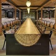 Оригинальные столы деревянные фото