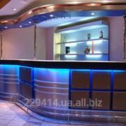 Барная стойка для кафе,ресторанов,ночных клубов фото