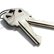 Изготовление плоского квартирного ключа ,двухстороннего,полукруглого фото
