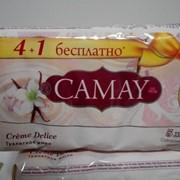 Мыло Camay Creme Delice 4+1 фото