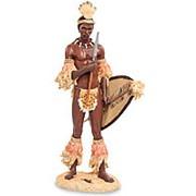 Скульптура Африканский воин 16х33х19см. арт.WS-729 Veronese фото