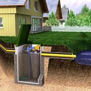 Канализация автономная без откачки для загородного дома, коттеджа и дачи фото