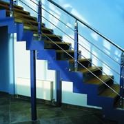 Лестницы металлические на тетивах, Харьков фото