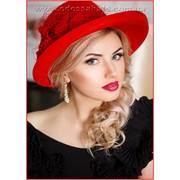 Фетровые шляпы Оливия модель A227-1 фото