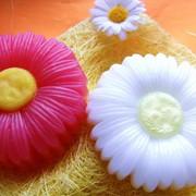 Натуральное мыло ручной работы - Ромашка фото