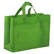Сумка для покупок Span 3D, зеленая фото
