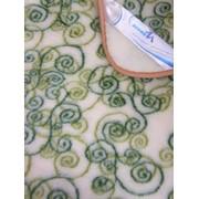 Одеяло Изумрудные завитки Модель П-1608 фото