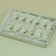 """Украшение флористическое """"Бабочка с зажимом"""" MOT00562 фото"""