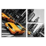 Картина Такси в Нью-Йорке фото