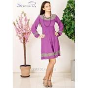 Платье 1646 Фиолетовый цвет фото