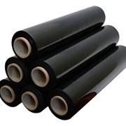 Чёрная Стрейч  плёнка 500 мм. 20 мкм.*300м. фото