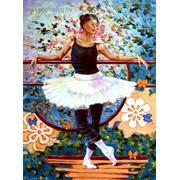 Картина на холсте о балете. фото