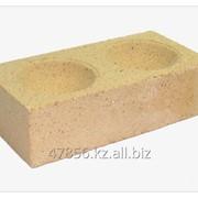 Кирпич огнеупорный(печной, шамотный) КО 3, желтый фото