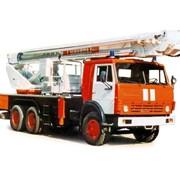 Автоподъемник коленчатый пожарный АКП-35 (шасси КАМАЗ-53215 6х4) фото