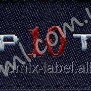 Этикетка с логотипом мод 049/969 фото