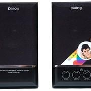 Система акустическая Dialog AD-06 black фото