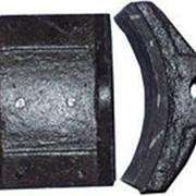 Колодка тормозная ТКГ400 фото