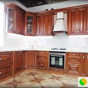 Кухня из массива фото