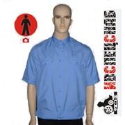 Сорочка форменная ВВС с коротким рукавом фото