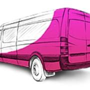 Наружная реклама на транспорте фото