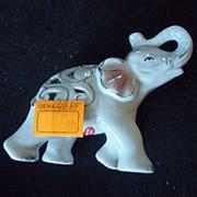 Сувенир Белый слон Узор на теле 4688 12х11 см. фото