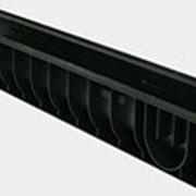Лоток водоотводный Gidrolica Pro ЛВ-15.19,6.11,7 - пластиковый, 815pro фото
