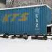 Контейнеры для перевозки сыпучих грузов, ЖД контейнеры. фото