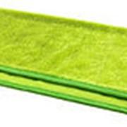 Салфетка из микрофибры полировочная зелёная фото
