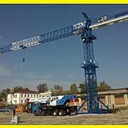 Услуги башенного крана КБ-73 метра в Краснодаре фото