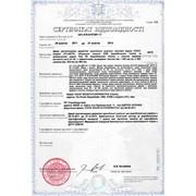 Пожарный сертификат (МЧС) фото