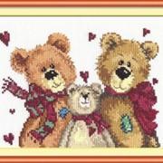 Набор для вышивания Три медведя фото